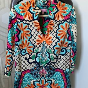Lily Pulitzer Tunic w sequins